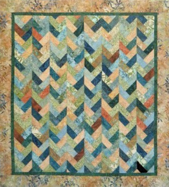 Braids On Parade by Far Flung Quilts