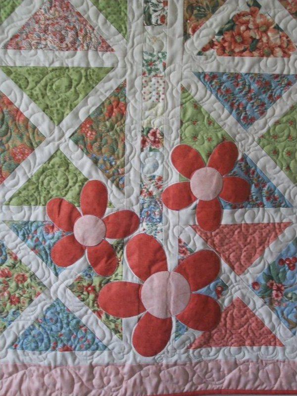 Vintage Baby Quilt Patterns Free : Vintage Turnovers Quilt Pattern
