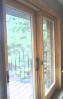 Interior Hicklry Grained sliding Door