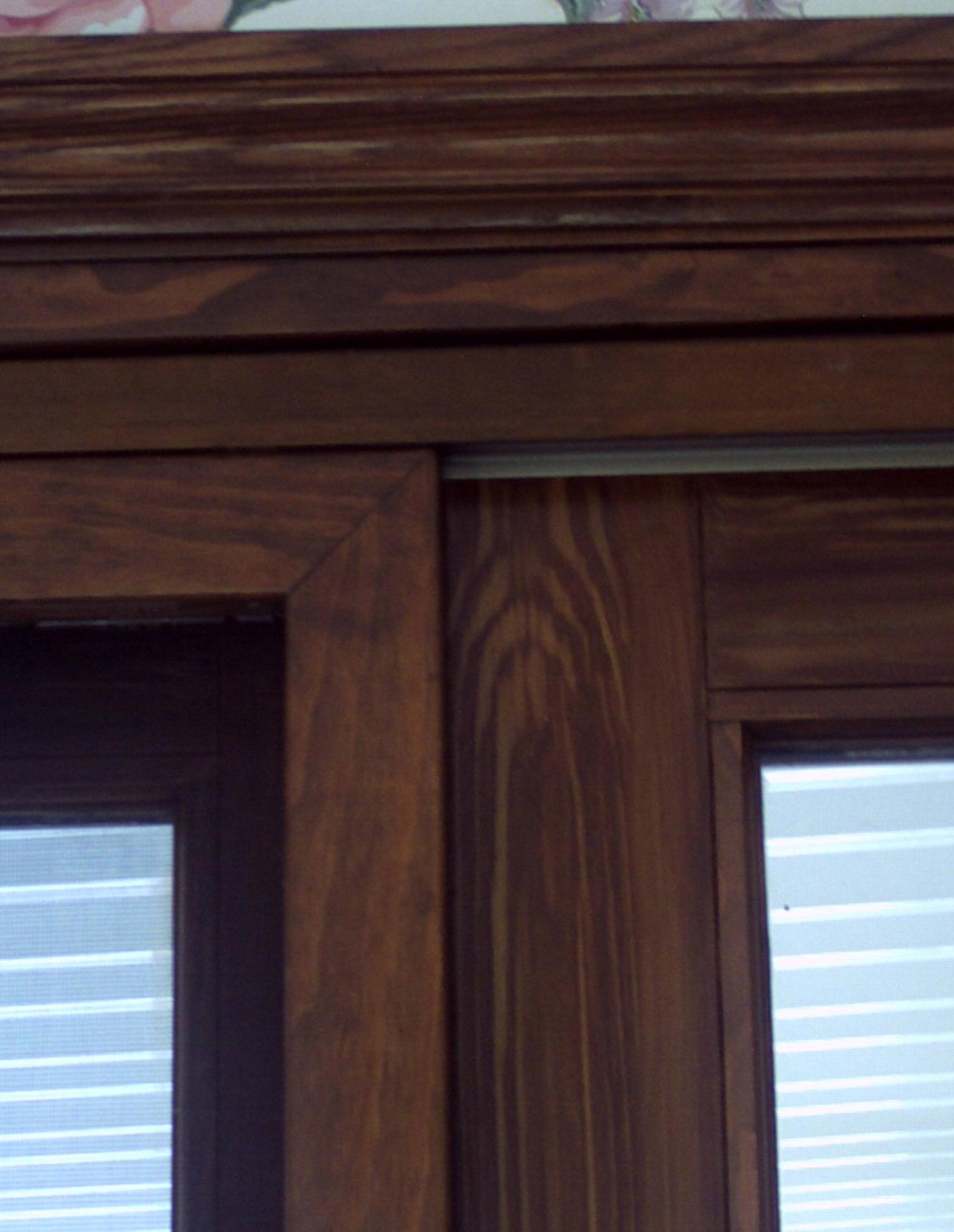 Oak With Dark Stain