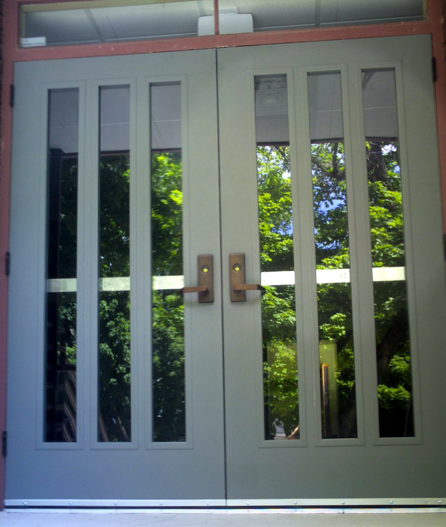 Hollow metal doors door amp gate usa - Commercial Exterior Metal Doors