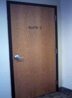 Original Oak Door