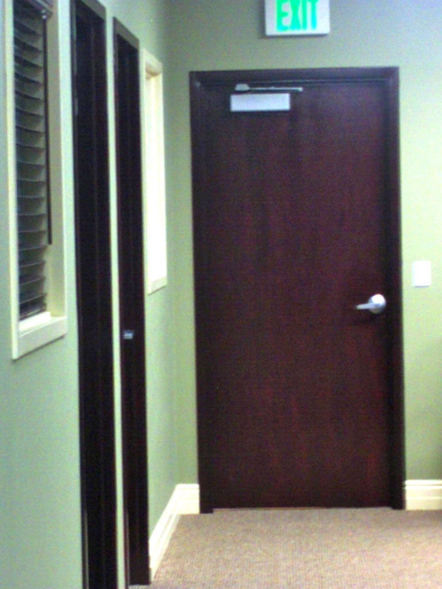 Commercial interior wood door for Interior entrance doors