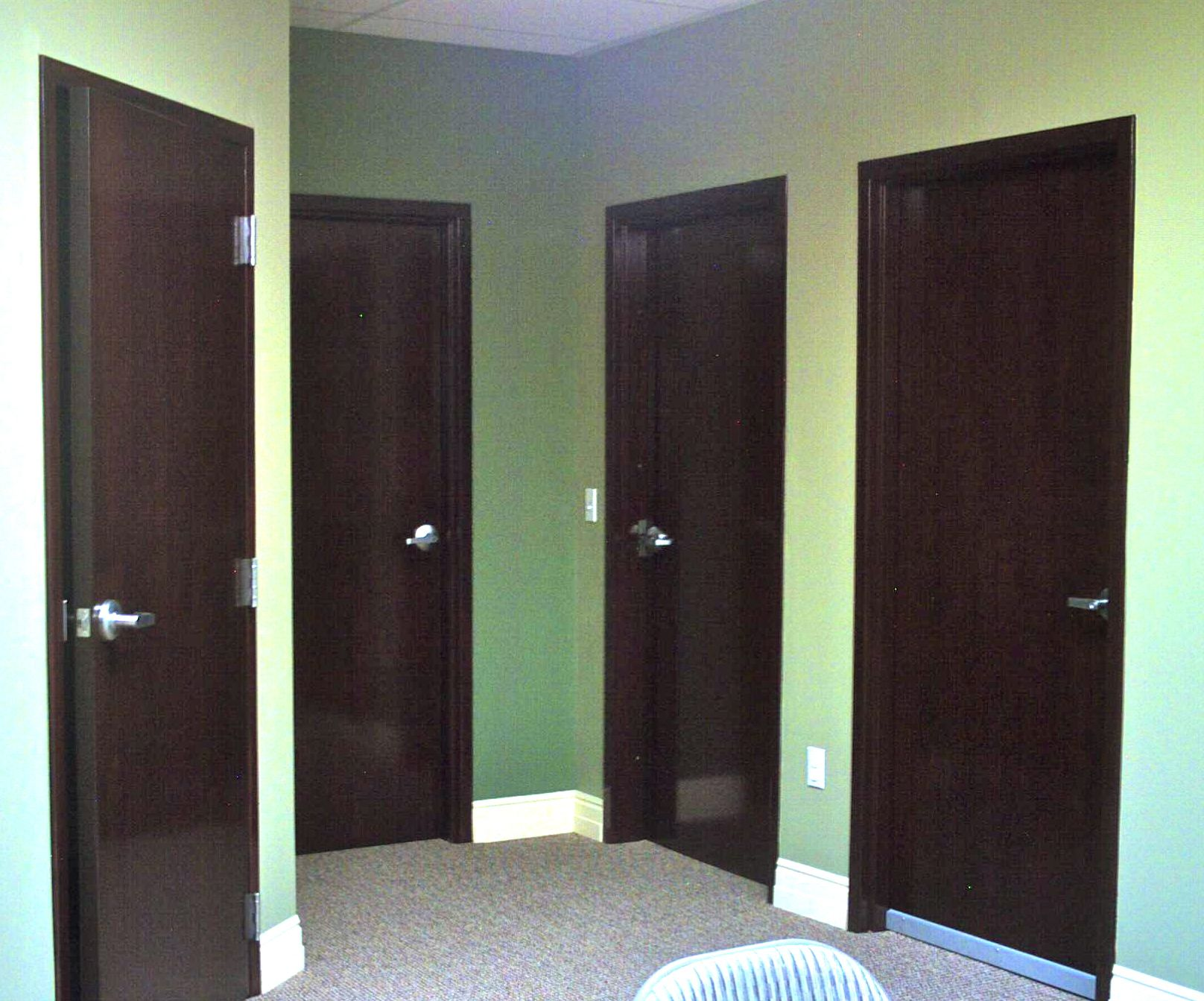 Commercial double doors interior for Commercial exterior doors