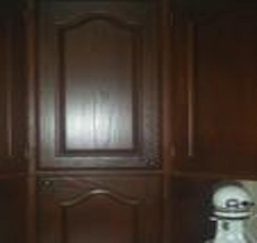 Upper Corner Cabinet Closeup Cabinet Front