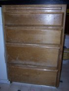 Damaged cabinet drawers
