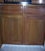 Refurbish Damaged Kitchen Cabinets