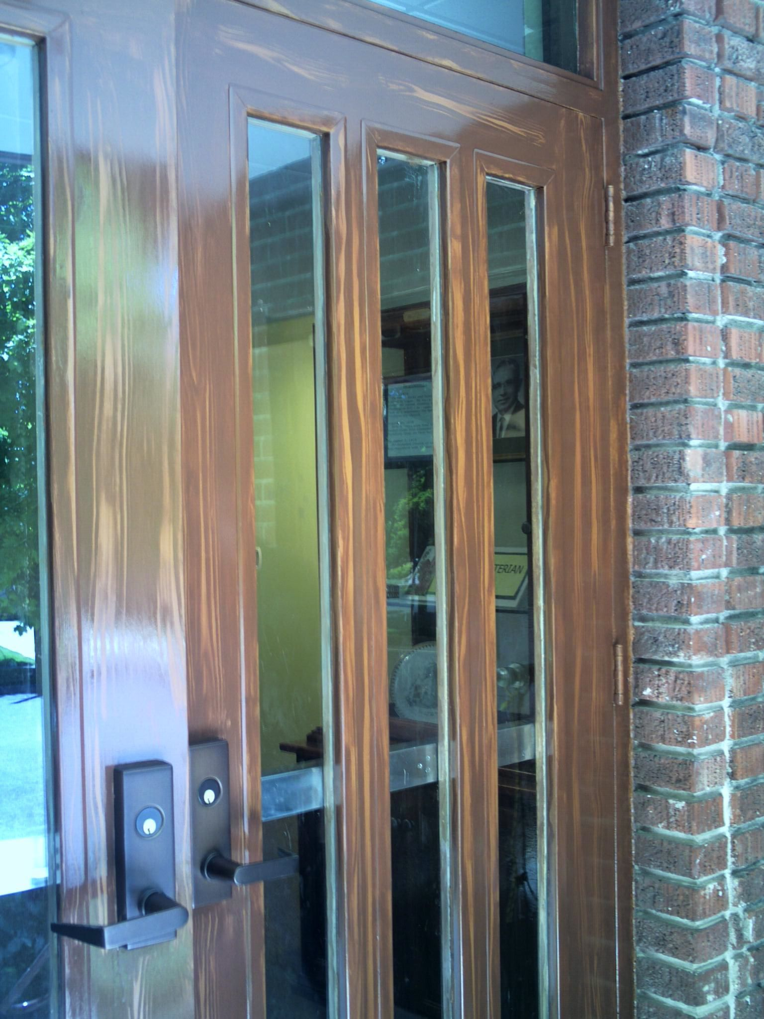 2048 3a7791 exterior door before final clear coat was applied pic doors commercial 46911536