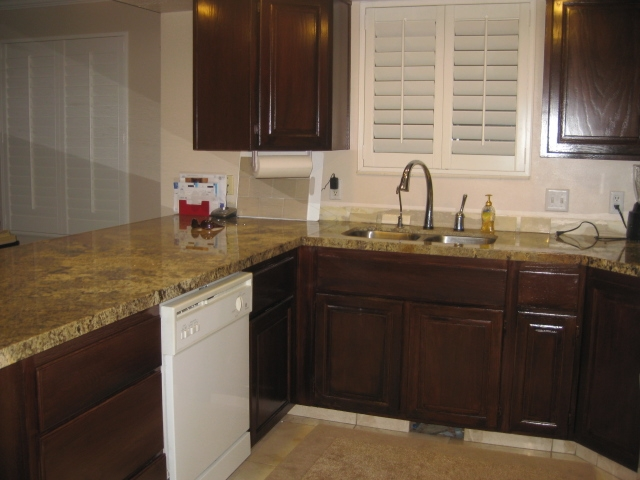 Refurbished Kitchen Cabinets Finished Refurbished Kitchen Cabinets Jpg
