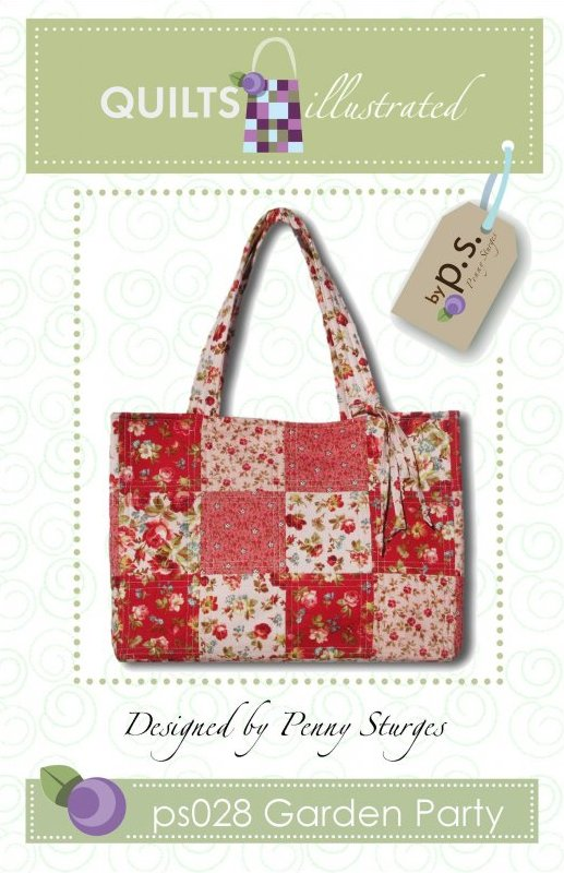 ps028 Garden Party Tote Pattern
