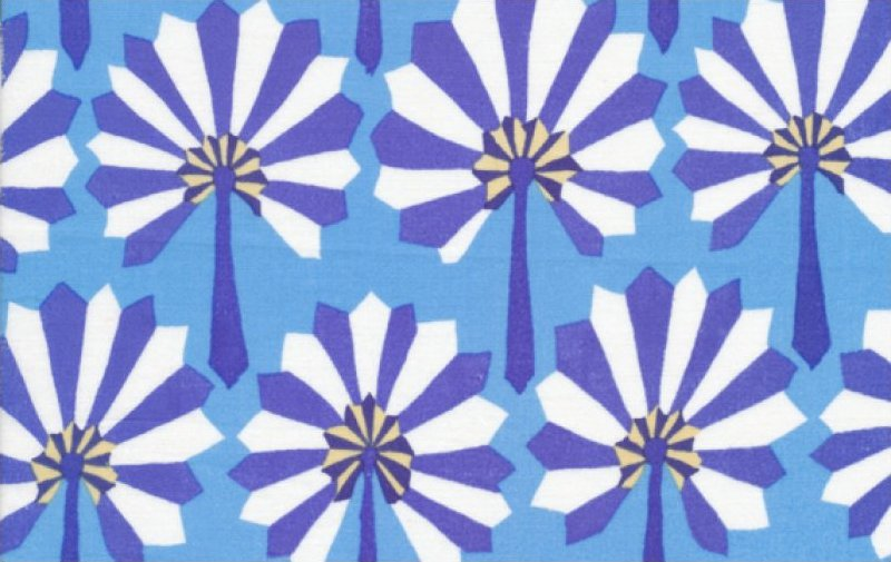 Kaffe Fassett-Palm Fan-GP114-BLUE