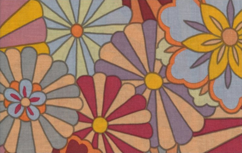 Kaffe Fassett-Radiation-GP115-BROWN
