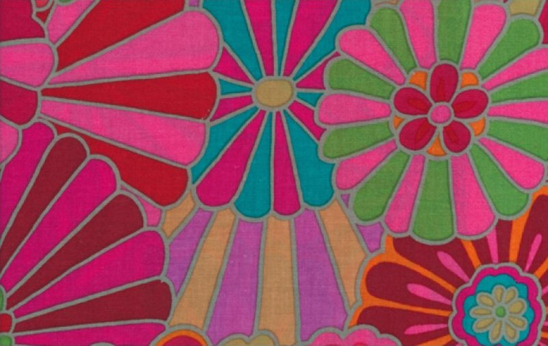 Kaffe Fassett-Radiation-GP115-RED