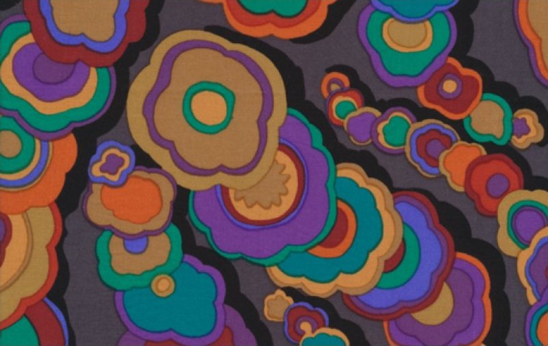 Kaffe Fassett-Kite Tails-GP122-BLACK