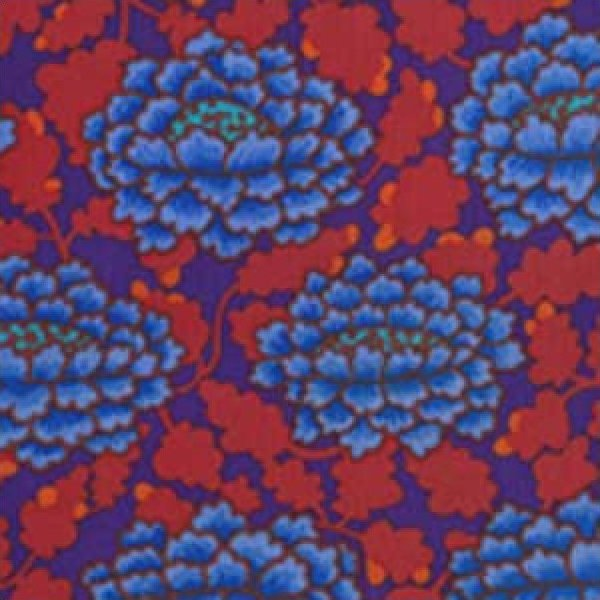 Kaffe Fassett-Frilly-KF-GP126-BLUE