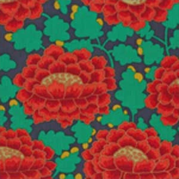 Kaffe Fassett-Frilly-KF-GP126-ORANGE