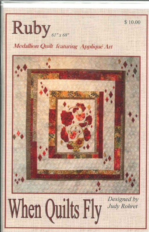 Patterns-Ruby-When Quilts Fly-RUBY