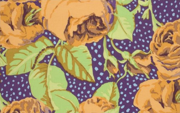 Kaffe Fassett-August Rose-Ochre