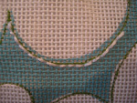 stitch a needlepoint curve