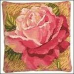 Single Rose needlepoint kit