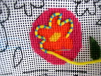 needlepoint couching
