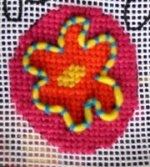 needlepoint couching how to