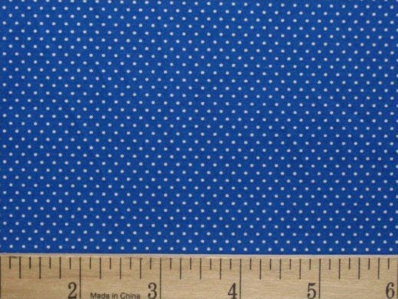 Royal Blue Polka Dot Border Polka Dots Blue ROYAL BLUE