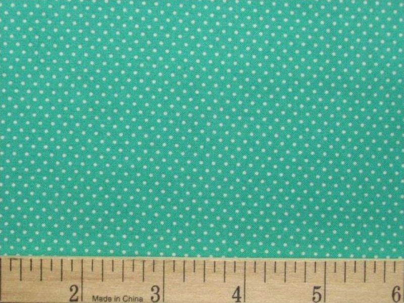 Royal Blue Polka Dot Border Mini Dot Micro Dot Pin Dot
