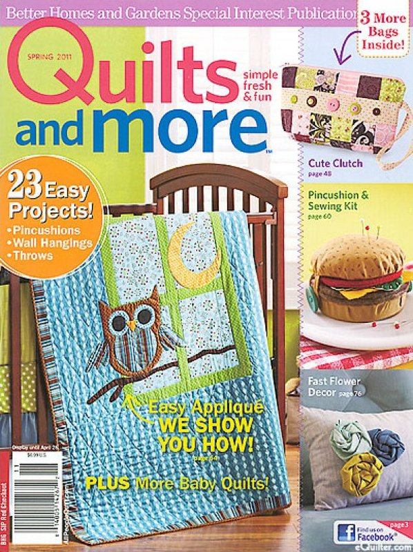 Better Homes And Gardens Specialty Publication Quilts And