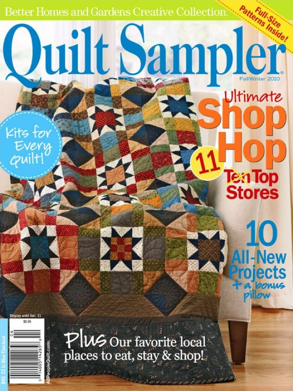 Better Homes And Gardens Creative Collection Quilt Sampler Magazine Fall Winter 2010