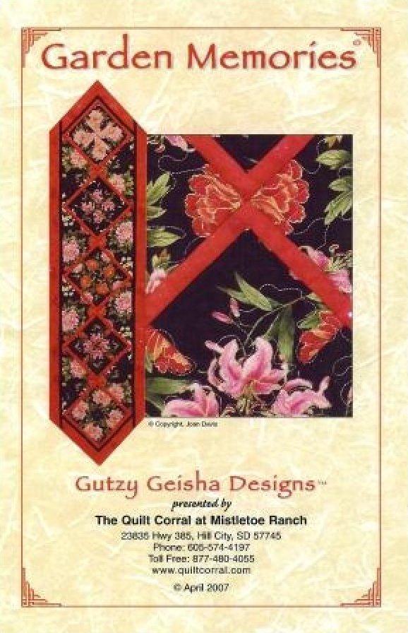Garden Memories - Gutzy Geisha Designs