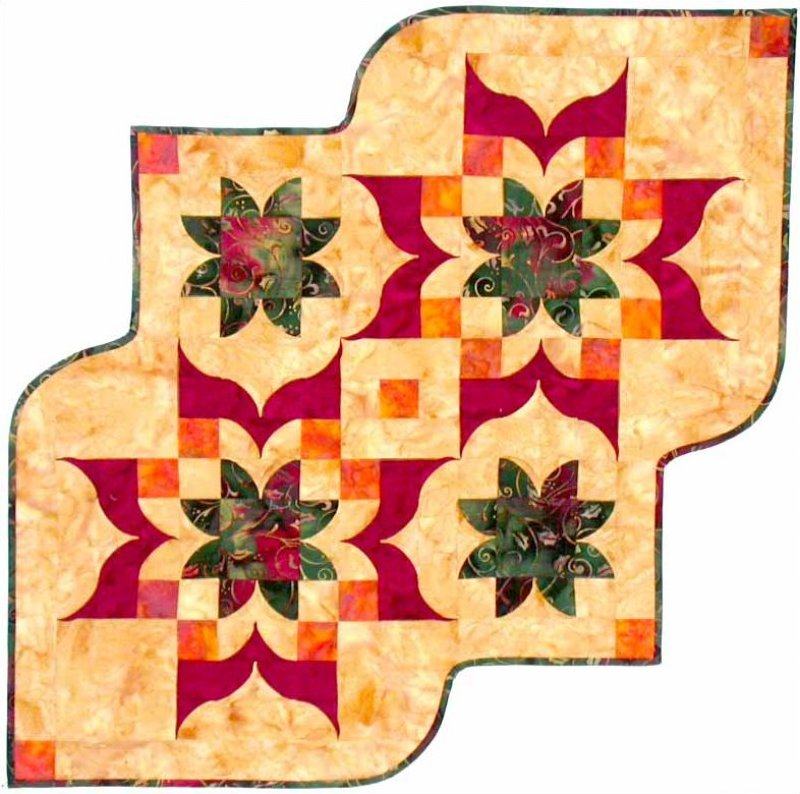 Victorian Table Runner Pattern - Southwind Designs - SWD-411