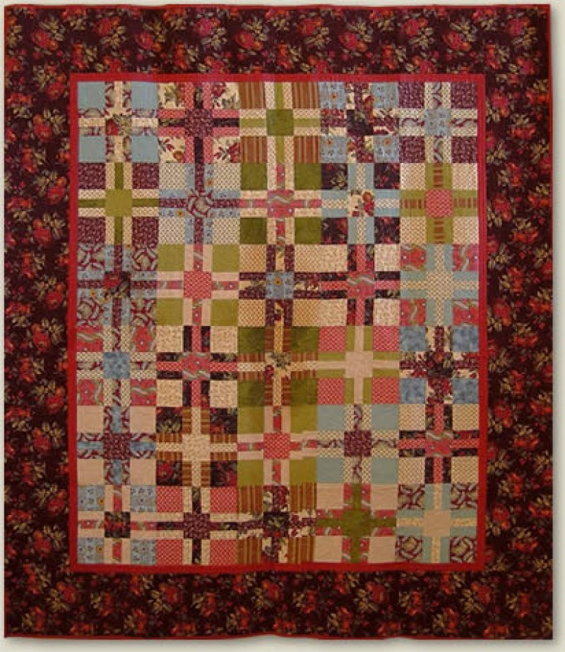 Kris-Cross Quilt Pattern #164 NRD 164