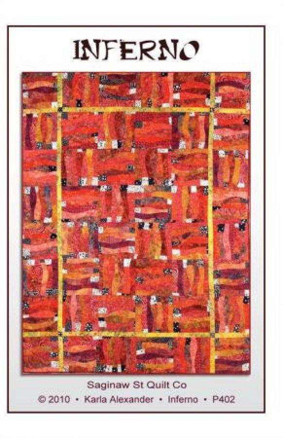 Inferno-Size 48 1/2 x 64-P402
