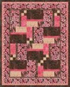 Patchwork Bouquet-Petal Colorstory Quilt Kit- 51x 63
