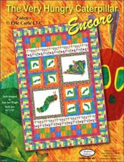 The Very Hungry Caterpillar Encore by Eric Carle for Andover Quilt kit-64x92