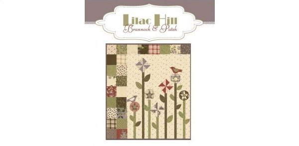 Jan & Jenny's Garden by Moda 34.5 x 40.5 - Lilac Hill Kit