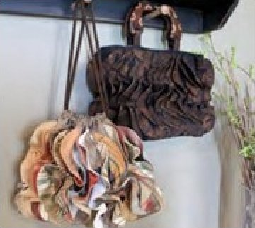 All Ruffled Up Handbag  -  by Bella Nonna - Pattern #183 -