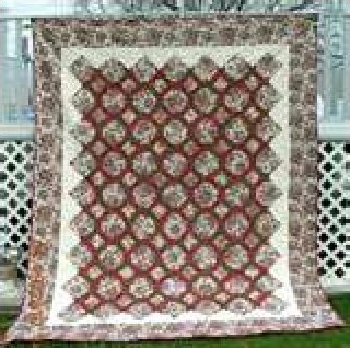 Garden Twist Quilt 58 x 68 - from In The Beginning K10380
