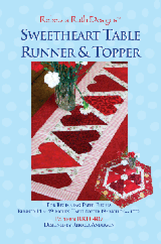 Sweetheart Table runner & topper - Rebecca Ruth Designs - K10370