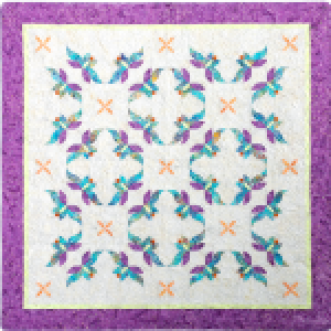 Butterfly Serenade Quilt Pattern - Southwind Designs - SWD-222-BS