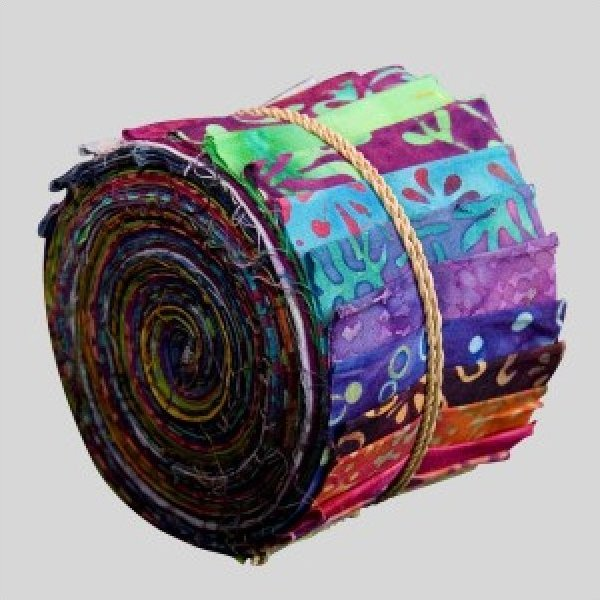 Bright Jewels- Sushi Rolls by Princess Mirah for Bali Fabrics-#SUR-01