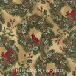 Christmas by Hoffman Fabrics- H8823-33G