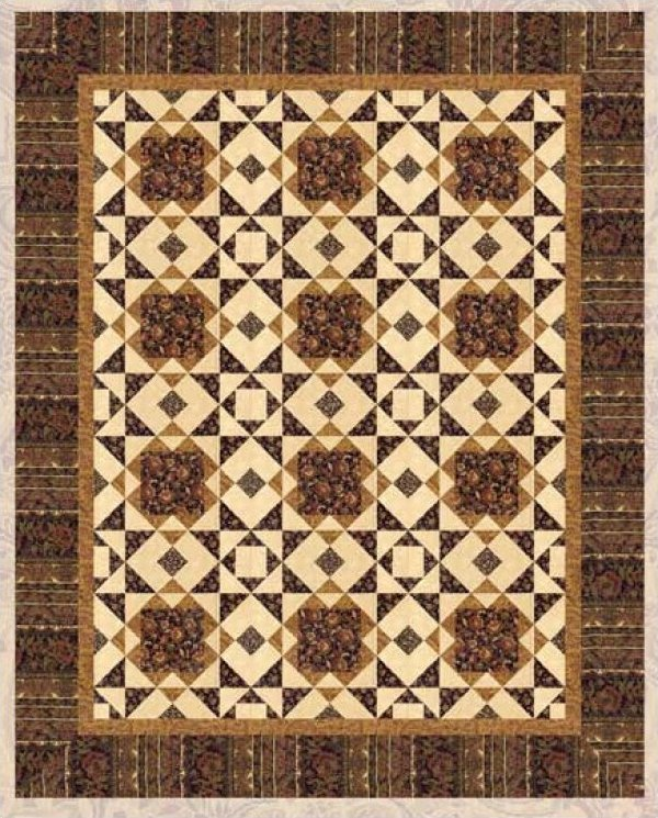 Via Ravenna by Doug Leko  for Hoffman Fabrics-size 60x75