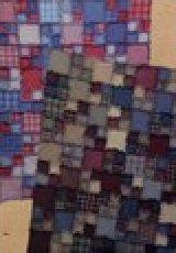Rag Time Quilt 49x63 throw, 63x77 large throw, 35x49 crib - 836561001008
