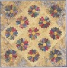 Lollipops 40x40 quilt size - pattern - LBQ-LP01-P