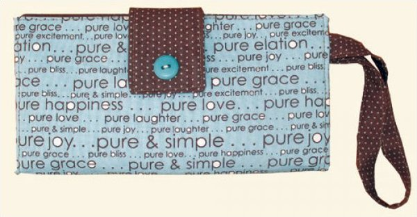 Whimsey Wallet pattern - 4x7.5 - #157