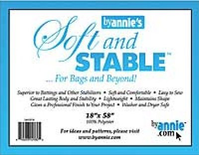 Soft and Stable batting for bags and beyond by Annie's 810233020825