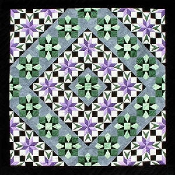 Star Flower - A Quilt Design Pattern by Dereck C. Lockwood #172