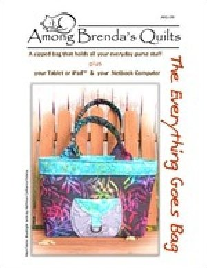 The Everything Goes Bag Pattern by Brenda Miller for Among Brenda's Quilts - ABQ-159